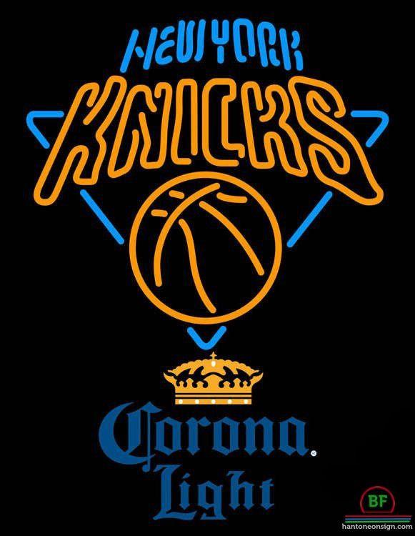 Corona Light New York Knicks Neon Sign NBA Teams Neon Light