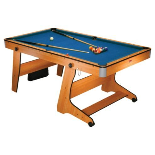Superb BCE 6ft Vertical Folding Pool Table From Our Pool Range   Tesco.com