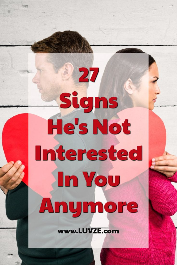 Signs he interested in you