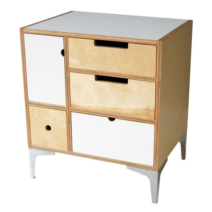DE STEYL | Play Play Small Chest Storage with Metal Legs - Furniture - 5rooms.com