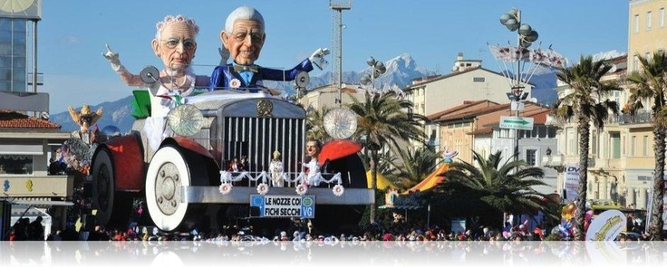 Carnaval in Viareggio