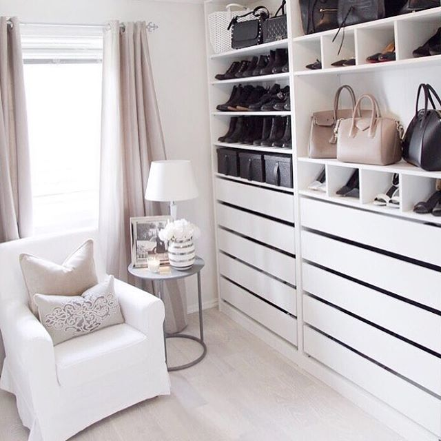 IKEA pax home fitted dressing room