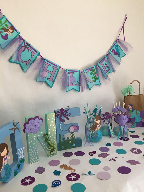 Mermaid Party In A Box Birthday Decorations Pack Bundle Girl 2019
