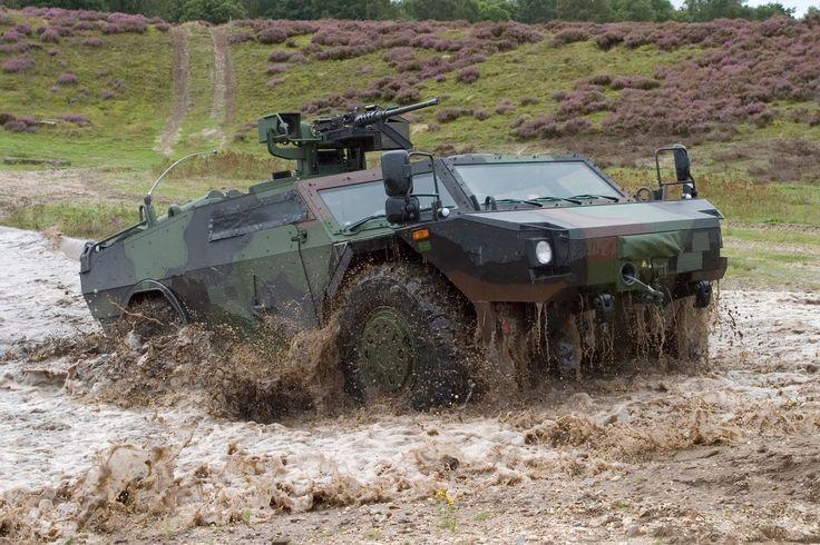 Fennek Light Armored Reconnaissance Vehicle (Germany)