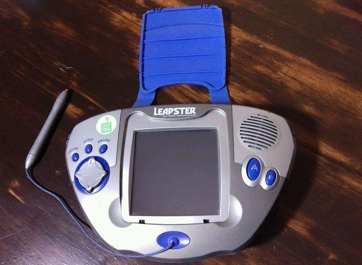 Blue grey leapfrog leapster multimedia learning system