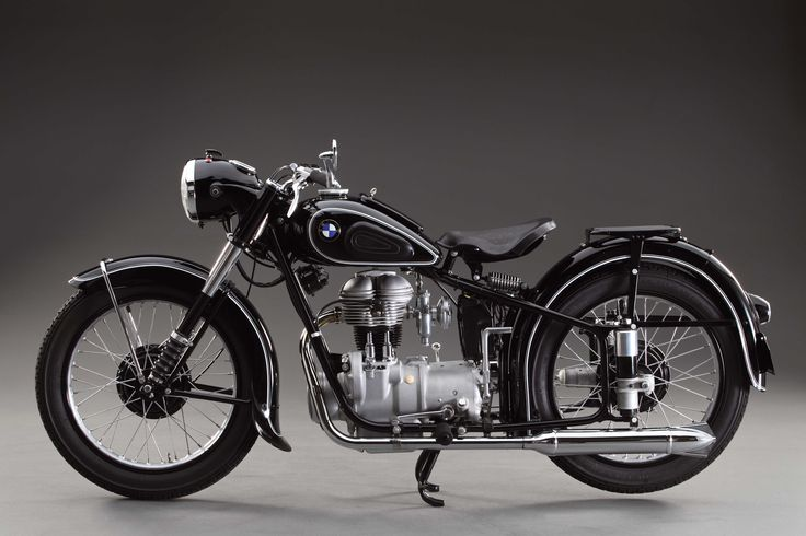 photos of vintage motorcycles | ... : 1953 BMW R25/2 - Classic German Motorcycles - Motorcycle Classics