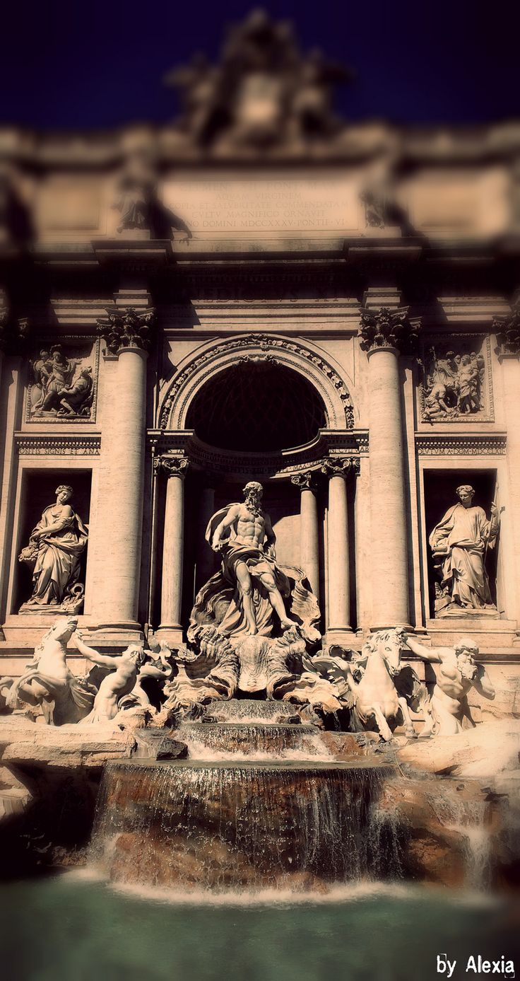 https://flic.kr/p/rPSQGf | Rome,Fontana di trevi | Magnificent fountain