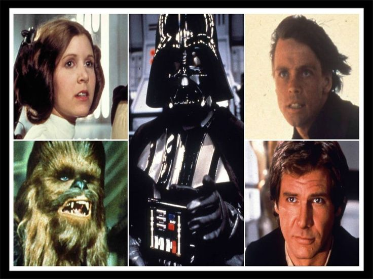 Han Solo , Princess Leai, Darth Vader, Chewbacca an Luke Skywalker fridge magnet #theweewitchesbox