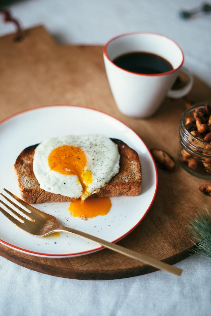 Simple egg toast