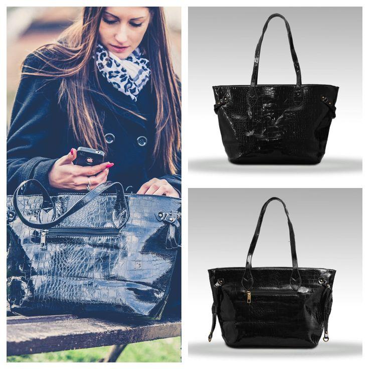 Klasszikus fekete, az örök divat! Látogass el oldalunkra, és válaszd ki a stílusodhoz legjobban illő táskát! www.ekszertaska.hu