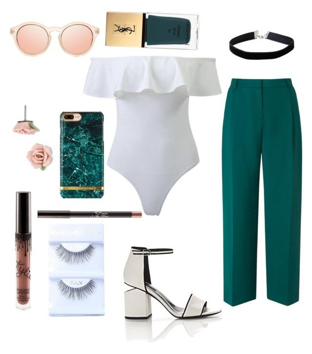"""Untitled #56"" by danielle-bell-i on Polyvore featuring L.K.Bennett, Alexander Wang, Miss Selfridge, Yves Saint Laurent, Le Specs and 1928"