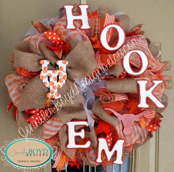 31 best Burnt-Orange DIY images on Pinterest | Hook em horns ...