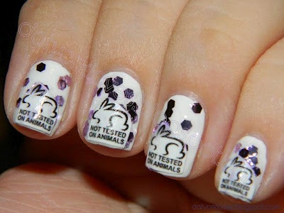 datyorkLOVES: Day 13- Not Animal Print- Not Tested on Animals Nails: Animal Prints, Sassynails
