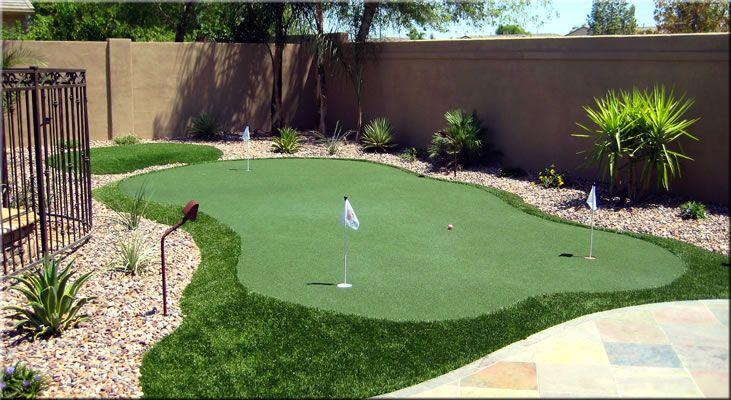 artificial putting green on pinterest putting green turf backyard