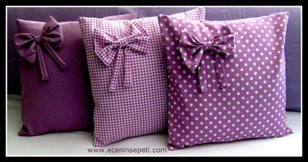 Mismo modelo diferentes telas. | COJINES | Pinterest | Homemade, Spring and Cushion covers