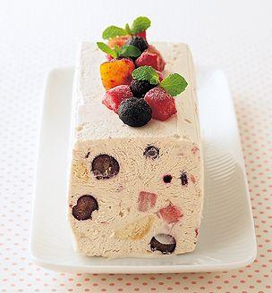 ミックスフルーツアイスケーキ : ステーション