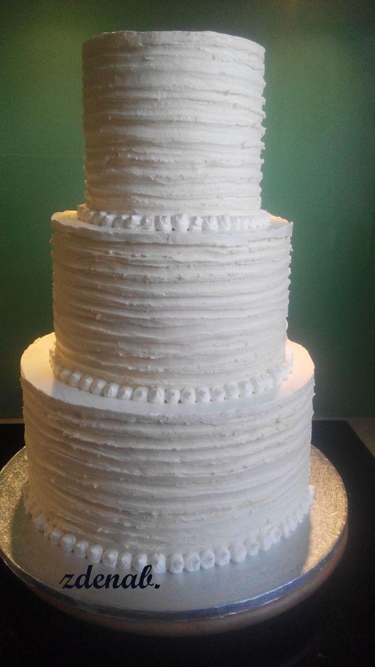 svatební-12 kg  polonahý-bílkovomáslový krém