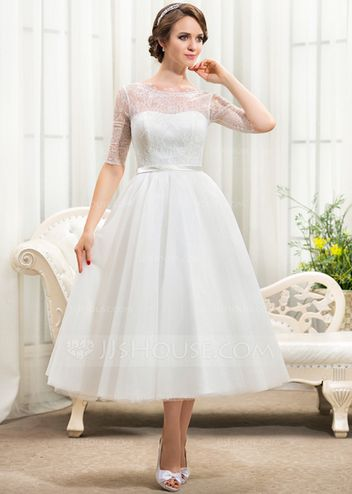 36 best Brautkleider kurz images on Pinterest   Homecoming dresses     brautkleid kurz mit     rmeln