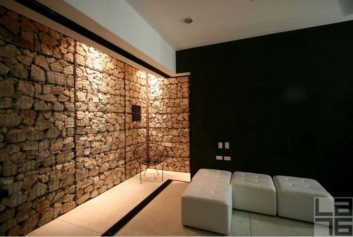 Diferente manera de construcci n y decoraci n muro gavi n - Muros de gavion ...