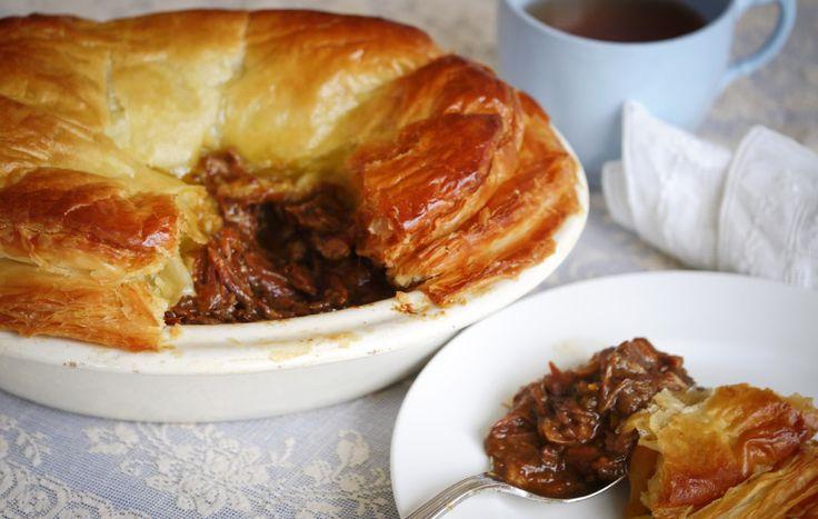 lamb shank pie - a Julie Goodwin recipe