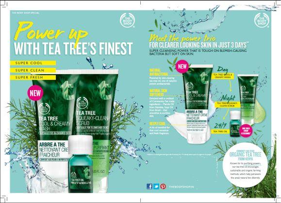 The Body Shop Tea Tree Power Trio