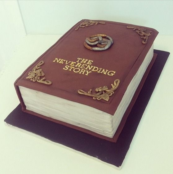 The Neverending Story book cake
