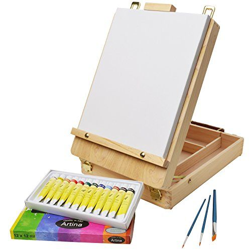 ARTINA® Set pittura in valigetta Florenz, 17 unità - cass... https://www.amazon.it/dp/B016Y3UFXS/ref=cm_sw_r_pi_dp_x_gmqYyb15W8P5V