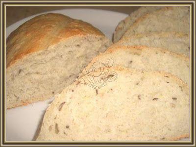 domácí chléb se syrovou bramborou