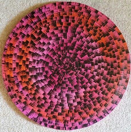 Mandala Artista: Carolina Piñeiro  Facebook: cuadros modernos Carolina