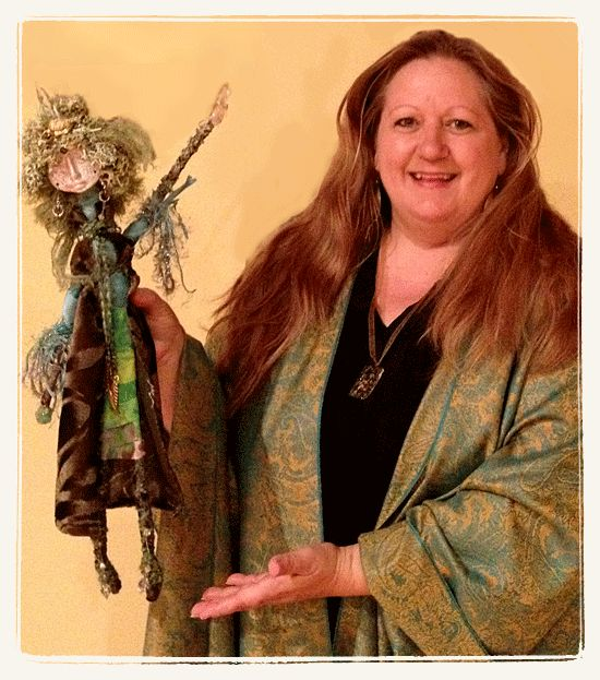 How to Make A Spirit Doll: Step 7 (Name Her, Charge Her, Bless Her) by Joanna Powell Colbert on October 20, 2012 2 comments  in Art Tutor...