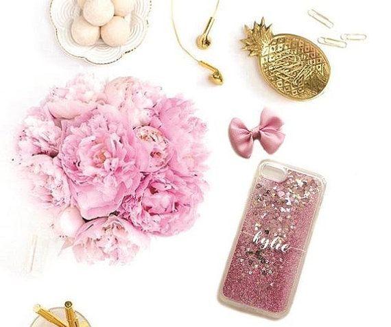 Glitter iPhone case #glitter #iphonecase #personalized #iphone7