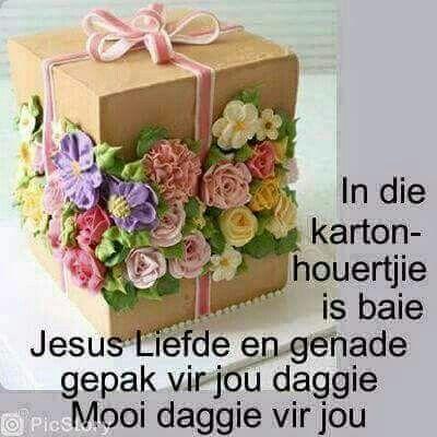Karton vol Jesus liefde