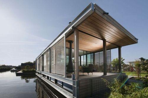 Aalsmeer '10 Houseboat by Dutch company Kodde Architecten