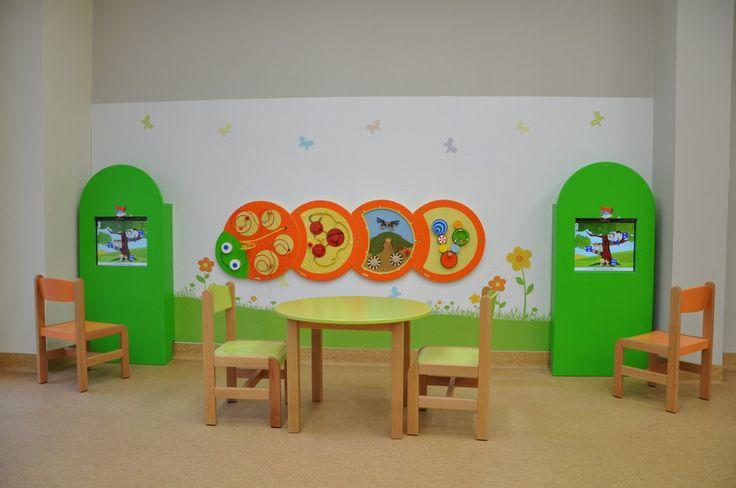 Interaktywne miejsce dla dzieci w centrum kultury