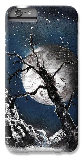 Night Of Wolves IPhone 7 Plus Case Printed with Fine Art spray painting image Night Of Wolves by Nandor Molnar (When you visit the Shop, change the orientation, background color and image size as you wish)