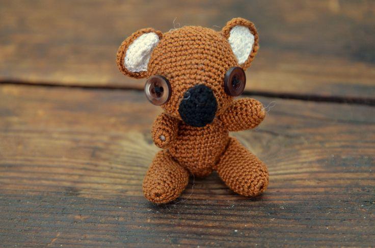 háčkovaná koala/ crocheted koala
