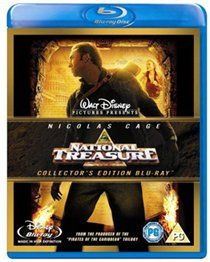 National Treasure Directed by Jon Turteltaub and produced by Jerry Bruckheimer this rollercoaster action adventure stars Nicolas Cage as Benjamin Franklin Gates an archaeologist from the seventh generation of a family  http://www.MightGet.com/january-2017-12/national-treasure.asp