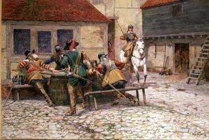 English Civil War in 1645, 1900  William Barnes Wollen