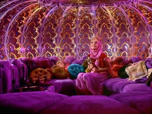 I Dream of Jeannie - An inspiration for a number in the pipeline!