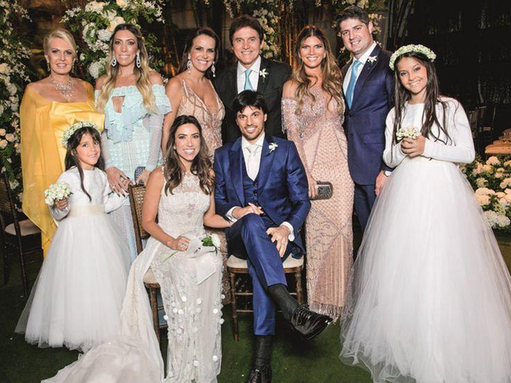 A apresentadora fez um evento para 200 convidados na casa do seu pai, no bairro do Morumbi. Veja como foi o casamento de Patricia Abravanel e o deputado Fábio Faria
