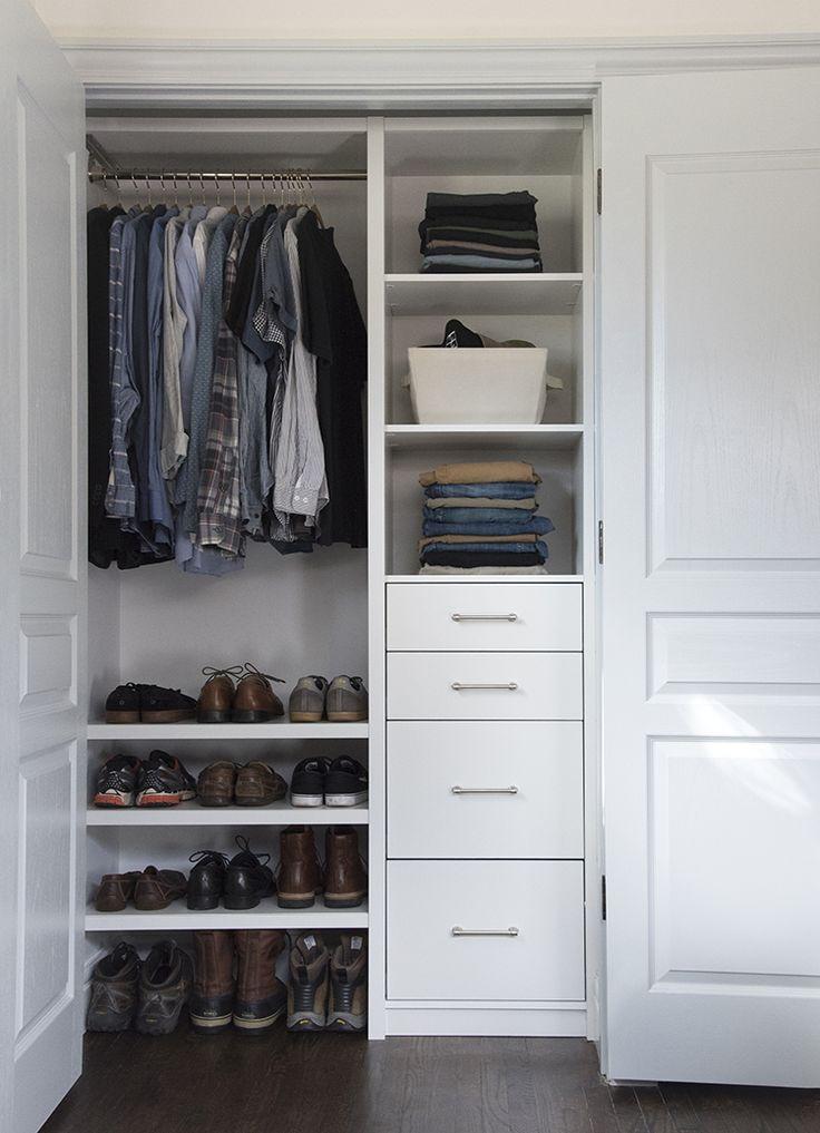 Custom Closet For Him (+ A Video!)   Room For Tuesday Blog