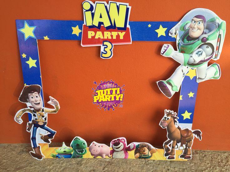 Toy story Party ideas, toy story francés, toy story Photo shoot frame toy story decoracion de fiestas @tuttipartyplayadelcarmen