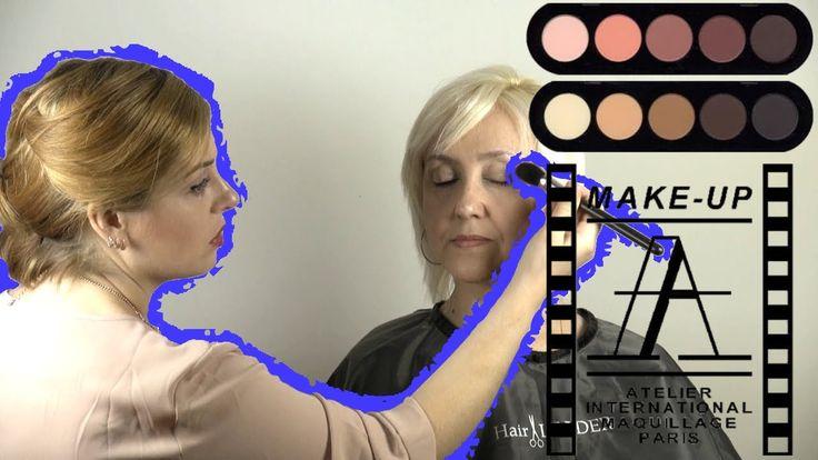 Возрастной макияж 45+ в карандашной технике   Age Makeup 45+