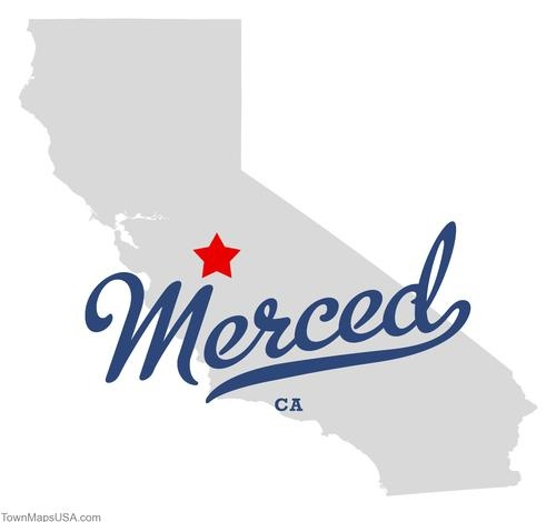 merced california - flew into Oakland  and spent 3 days in Merced with a friend in July of 1985