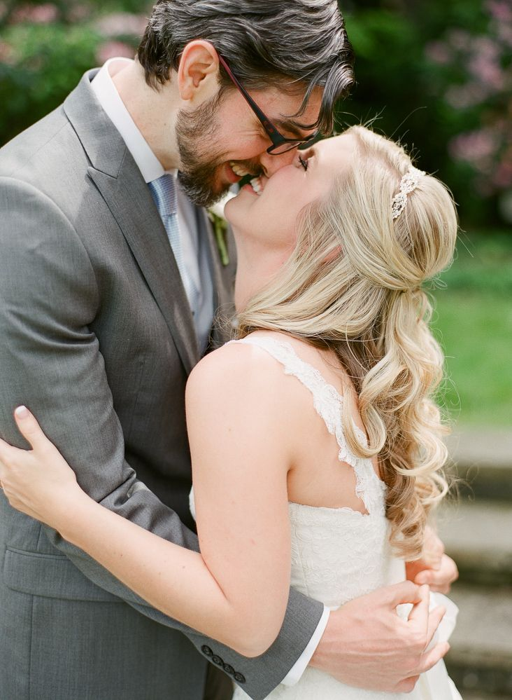 Long Curly Bridal Hair Ideas | photography by http://www.hunterphotographic.com