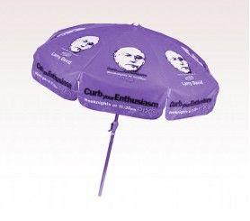 Charming Personalized Purple 7.5 Ft X 8 Panel Configuration Vinyl Patio Umbrella