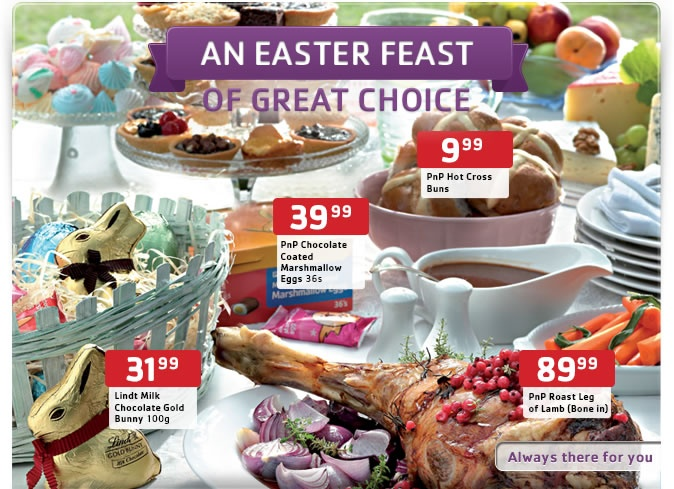 #PicknPay has some awesome #Easter #Bargains for you and your family to enjoy this #Easter weekend without spending a lot
