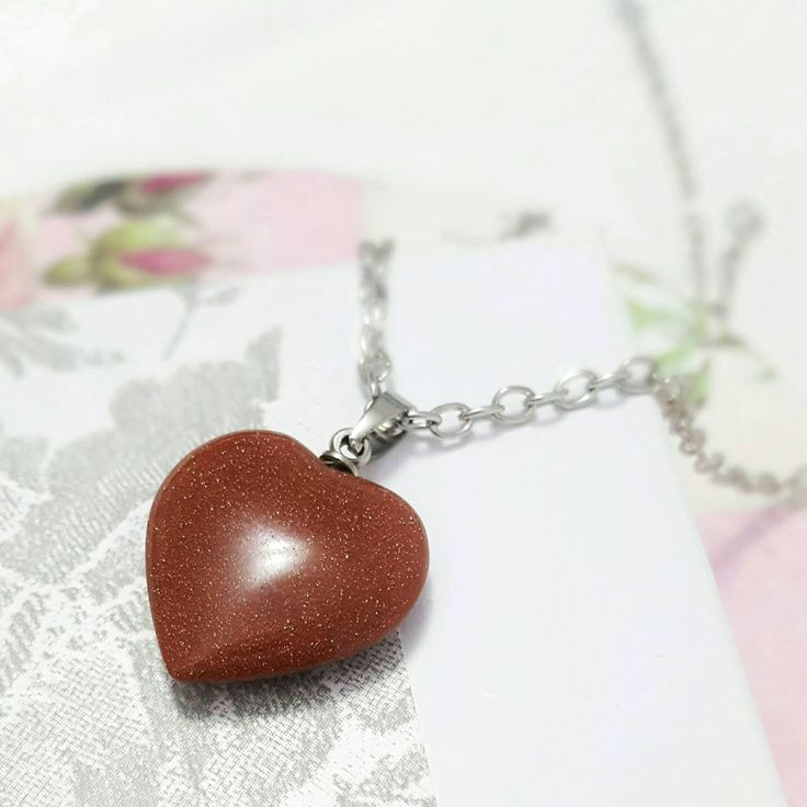 A personal favorite from my Etsy shop https://www.etsy.com/ca/listing/508934195/necklace-with-heart-heart-necklaces-for