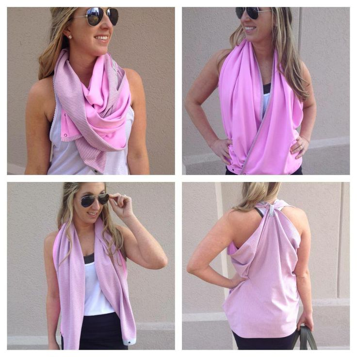 Vinyasa scarf - ways to wear it