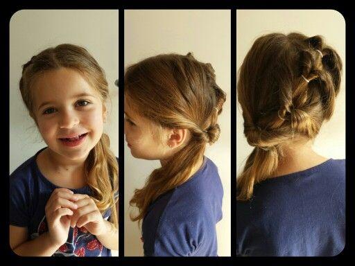 Idée coiffure petite fille coiffures Mariage Pinterest